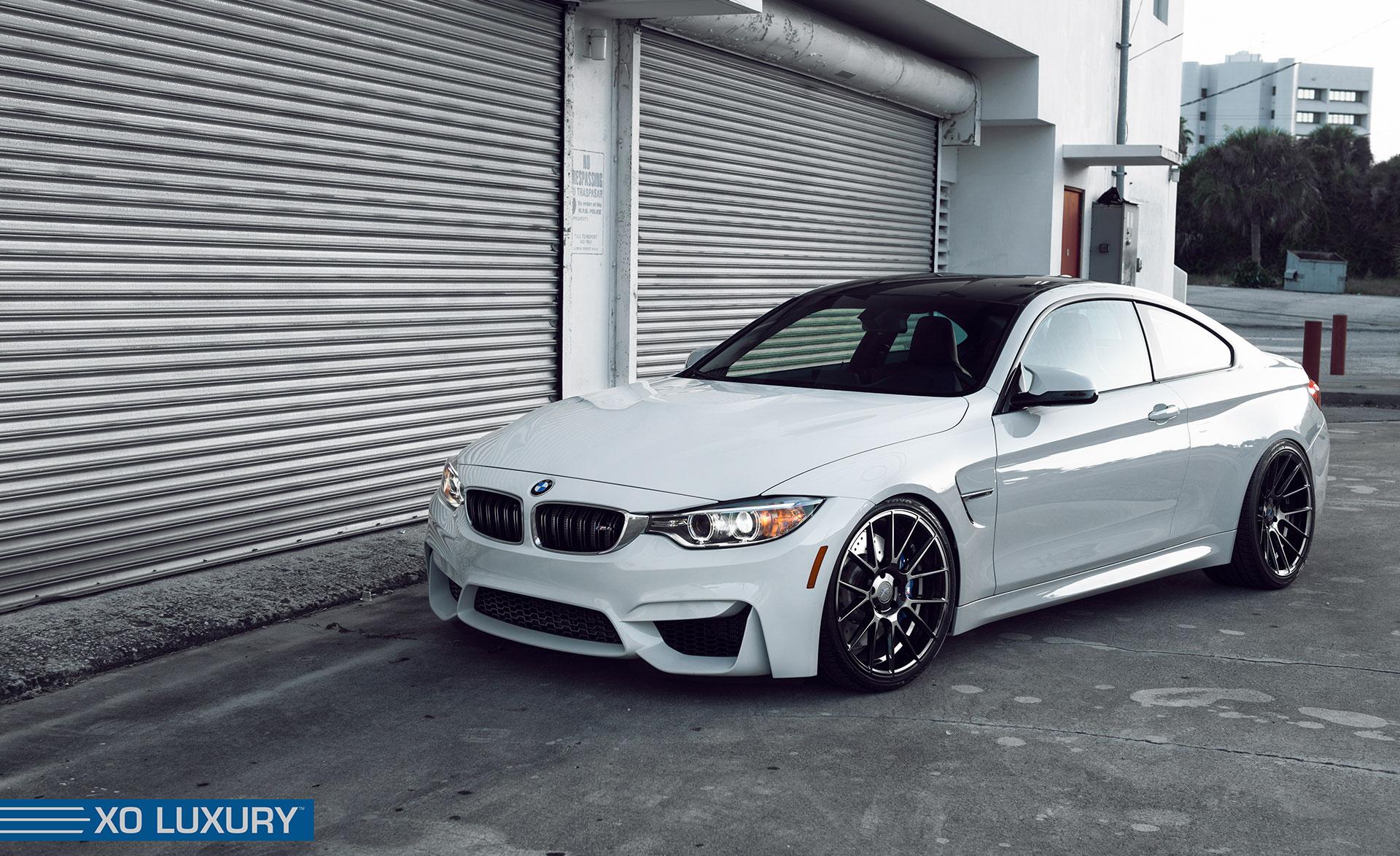 BMW M4 на дисках XF-1
