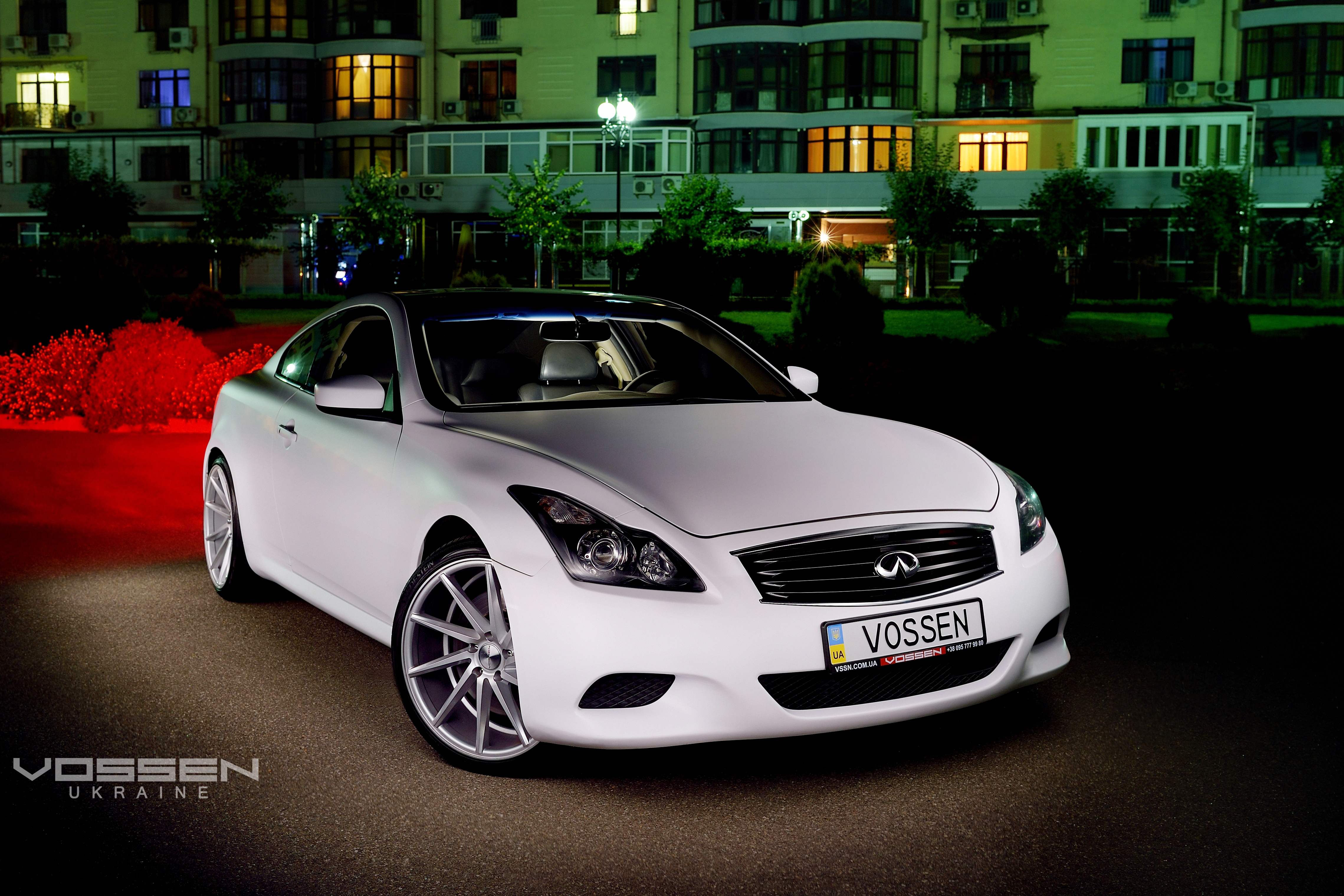 Infinity G37s Coupe Vossen Wheels CVT Perfect Art video production