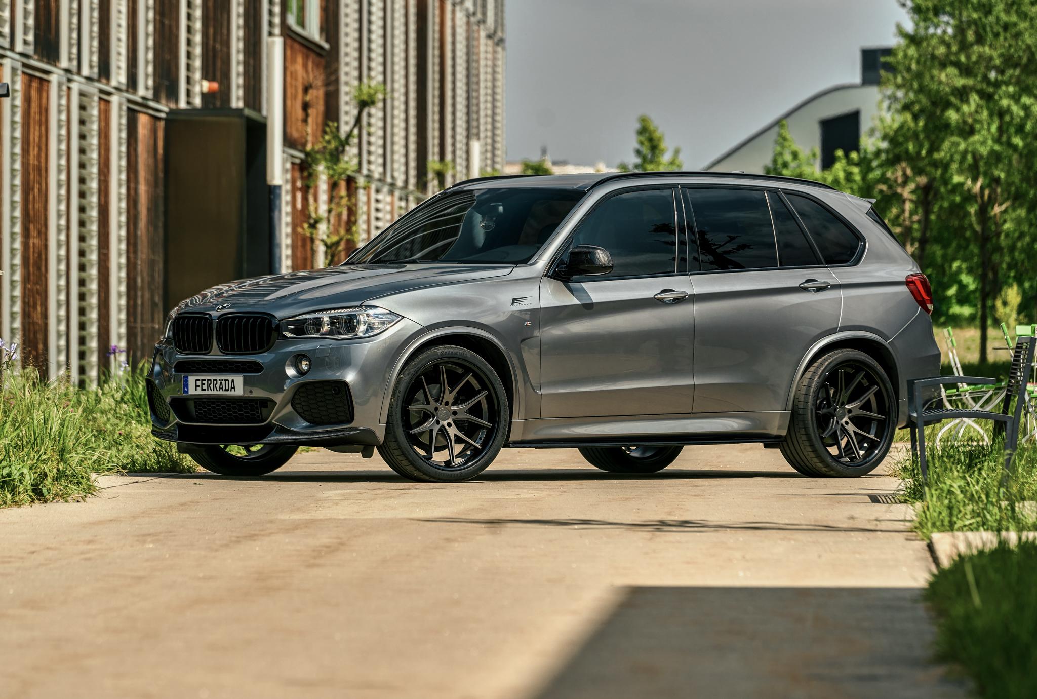 BMW X5 M-Perfomance | Диски Ferrada FR2 22x9.5 & 22x11