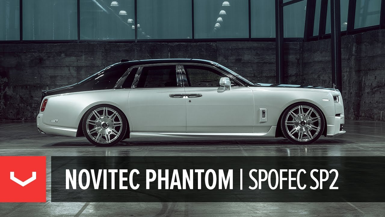 Rolls Royce Phantom | Кованые диски Novitec x Vossen Forged SP2