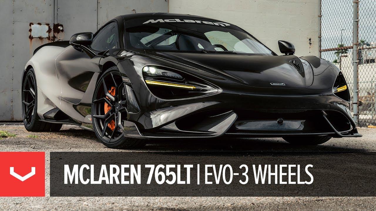 McLaren 765LT | Vossen Forged EVO-3 | Wheels PRO