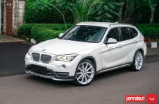 BMW X1 на дисках Hybrid Forged VFS-10