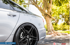 Audi S6 Gray 2017 with XO Luxury Caracas R22