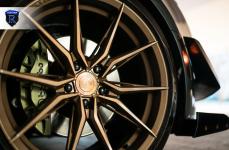 Chevrolet Camaro на дисках RFX13 Brushed Bronze