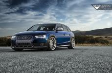 Audi A4 Allroad на дисках Vorsteiner V-FF 102