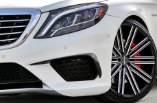 Mercedes Benz S63 AMG на дисках Heavy Hitters HH11