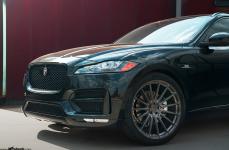 Jaguar F-Pace на дисках Avant Garde M615