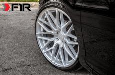 Honda Accord на дисках F1R F103 Brushed Silver