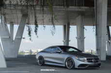 Mercedes Benz S63 AMG Coupe на дисках ADV15 Track Spec CS Series