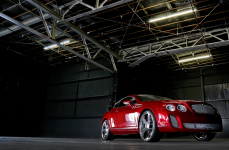 Bentley Continental на дисках Heavy Hitters HH15