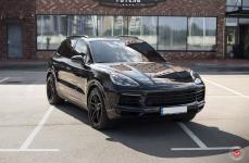 Porsche Cayenne на дисках Vossen Forged HC-2