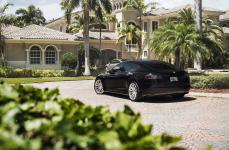 Tesla P90 на дисках Niche Surge