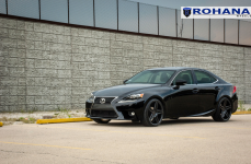 Lexus IS250 на дисках Rohana RC8