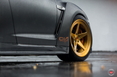 Nissan GTR на дисках Vossen Forged LC-101