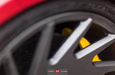 Ferrari 458 Italia на дисках Vossen Forged VPS-313