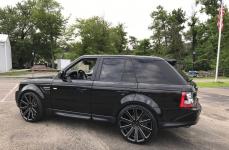 Range Rover на дисках Gianelle Santoneo