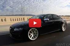 Audi S4 на дисках Avant Garde M510