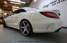 Mercedes Benz CLS63 AMG на дисках Concavo CW-5