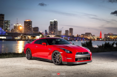 Nissan GTR на дисках Vossen Forged VPS-310