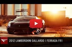 Lamborghini Gallardo на дисках Ferrada Wheels FR1