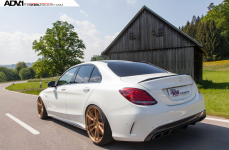 Mercedes C63S на дисках ADV5.2 M.V2 CS