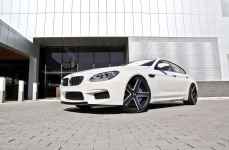 BMW M6 Gran Coupe на дисках Heavy Hitters HH15