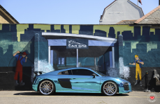 Audi R8 на дисках VOSSEN FORGED EVO-5