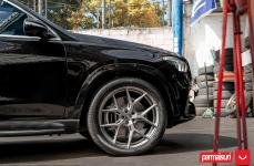 Mercedes GLE на дисках Hybrid Forged HF-5