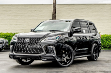 Lexus LX570 на дисках Black Rhino Mozambique