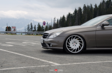 Mercedes Benz CLS на дисках Vossen Forged VPS-313