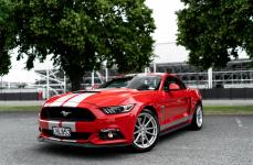 Ford Mustang GT на дисках TSW Bathurst