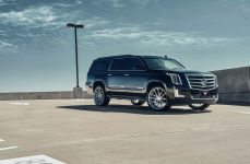 Cadillac Escalade на дисках Ferrada FT1 Machine Silver