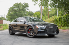 Audi RS5 на дисках V-FF 103 Carbon Graphite