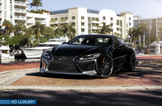 Lexus LC500 на дисках XO Luxury Verona R21