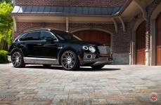 Bentley Bentayga на дисках Vossen Forged VPS-307T