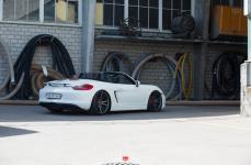 Porsche Boxster на дисках Vossen Forged VPS-301