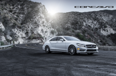 Mercedes Benz CLS550 на дисках Concavo CW-12