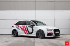 Audi A3 на дисках VOSSEN HF-3