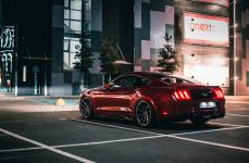 Ford Mustang на дисках Vossen CVT