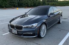 BMW 7 (G11/G12) на дисках TSW TURBINA