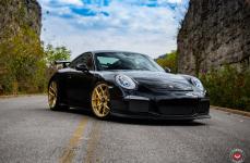 Porsche 991 на дисках VOSSEN FORGED S21-01