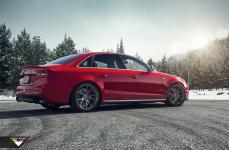Audi S4 на дисках Vorsteiner V-FF 106