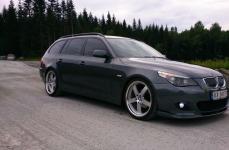BMW 5 Series на дисках Beyern Rapp