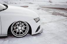 Audi A7 на дисках Ferrada FR2 Machine Silver