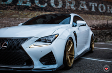 Lexus RCF на дисках Vossen Forged VPS-302