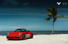 Porsche 911 Carrera на дисках Vorsteiner V-FF 104