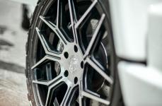 Mercedes G63 AMG на дисках Ferrada FT3 Machine Black