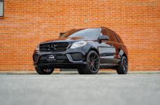 Mercedes Benz GLE на дисках V-FF 109 Carbon Graphite