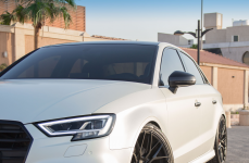 Audi A3 на дисках VORSTEINER V-FF 107