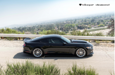 Ford Mustang GT Chip Foose Edition на дисках Blaque Diamond BD23